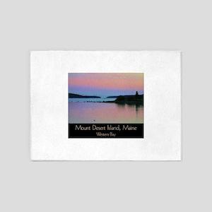 Mount Desert Island - Western Bay 5'x7'Area Rug