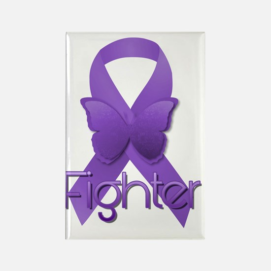 Cute Thyroid cancer survivor Rectangle Magnet