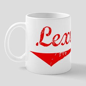 Lexus Vintage (Red) Mug