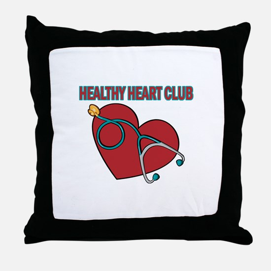 Cardiac Nurses & Patients Throw Pillow