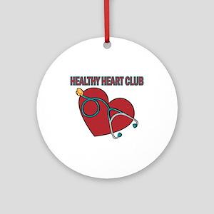 Cardiac Nurses & Patients Ornament (Round)