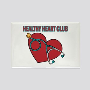 Cardiac Nurses & Patients Rectangle Magnet