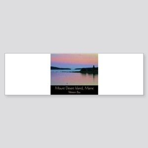 Mount Desert Island - Western Bay Bumper Sticker