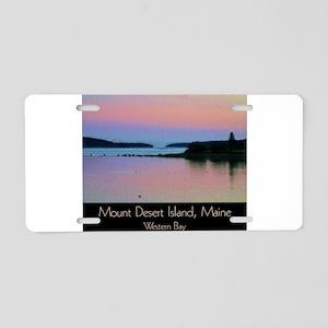 Mount Desert Island - Weste Aluminum License Plate