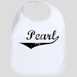 Pearl Vintage (Black) Bib