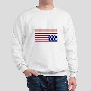 Upside Down Flag Sweatshirt