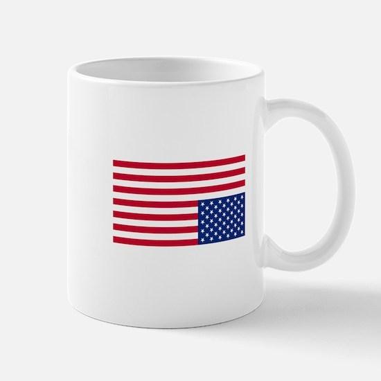 Upside Down Flag Mugs