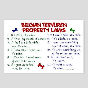 Belgian Tervuren Property Laws 2 Postcards (Packag
