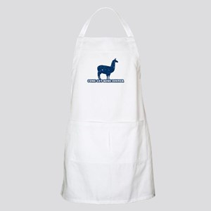 Come get some dinner BBQ Apron