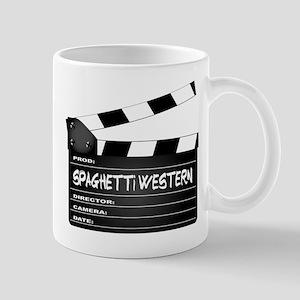Spaghetti Western Movies Clapperboard Mugs
