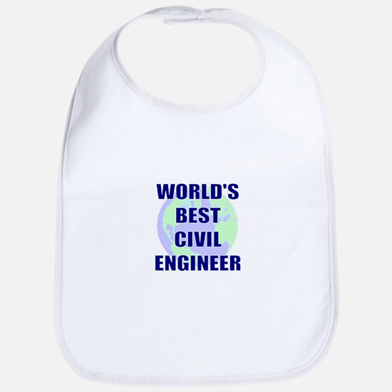 World's Best Civil Engineer Bib