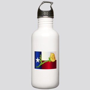 Texas Yellow Rose Stainless Water Bottle 1.0L