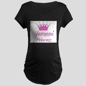 Yemeni Princess Maternity Dark T-Shirt