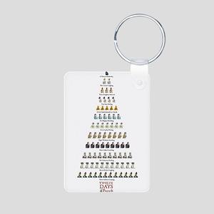 12daysofpandp Keychains