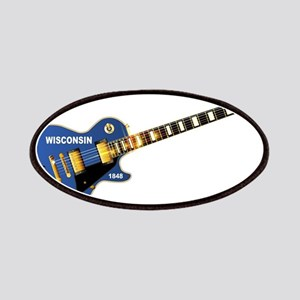 Wisconsin State Flag Guitar Patch