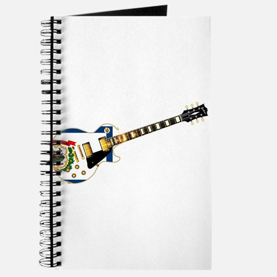 West Virginia State Flag Guitar Journal