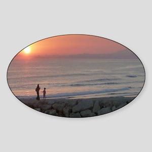 Sunset Beach Caparica Sticker