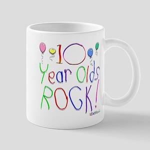 10 Year Olds Rock ! Mug