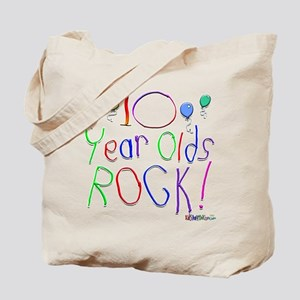 10 Year Olds Rock ! Tote Bag