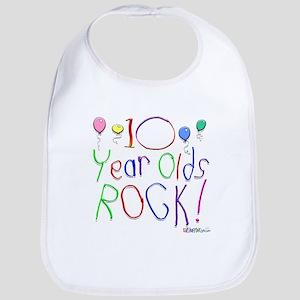 10 Year Olds Rock ! Bib