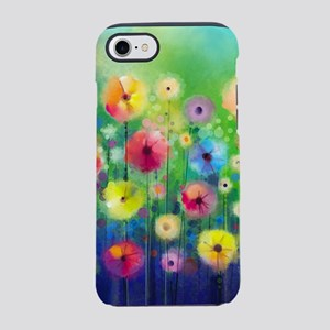 Watercolor Flowers iPhone 8/7 Tough Case