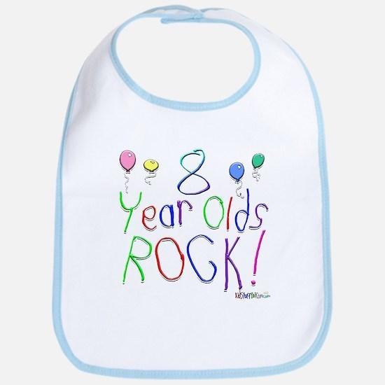 8 Year Olds Rock ! Bib