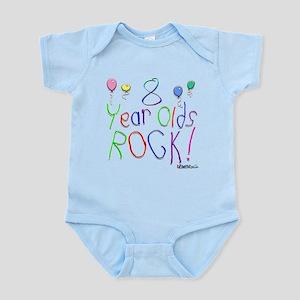 8 Year Olds Rock ! Infant Bodysuit