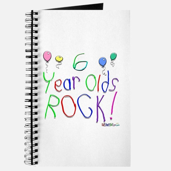 6 Year Olds Rock ! Journal