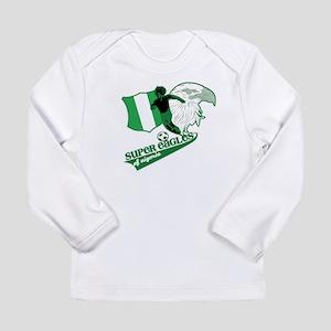 Super Eagles Nigeria Long Sleeve T-Shirt
