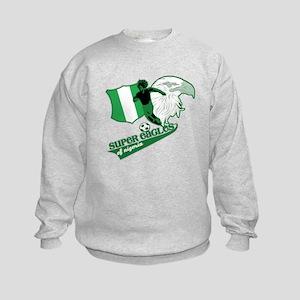 Super Eagles Nigeria Kids Sweatshirt