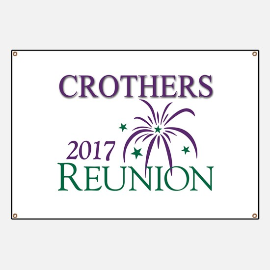 Crothers Family Reunion-2017 Banner