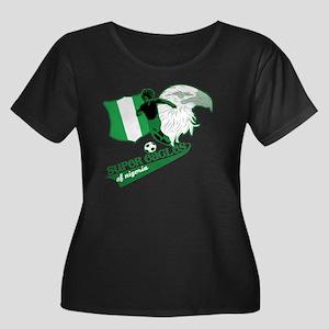 Super Eagles Nigeria Plus Size T-Shirt