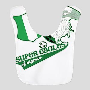 Super Eagles Nigeria Polyester Baby Bib