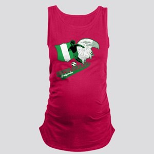 Super Eagles Nigeria Maternity Tank Top