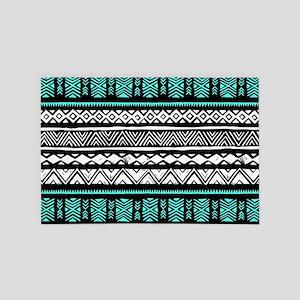 Tribal Pattern 4' x 6' Rug