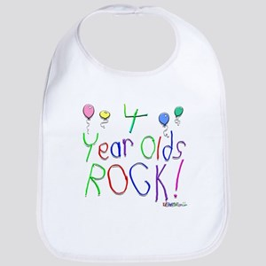 4 Year Olds Rock ! Bib