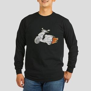 Scooter Sleeze Long Sleeve Dark T-Shirt