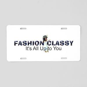 Fashion Classy Aluminum License Plate