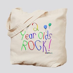 2 Year Olds Rock ! Tote Bag