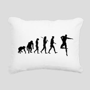 Male Dancer Rectangular Canvas Pillow
