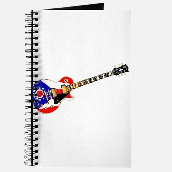 Ohio State Flag Guitar Journal
