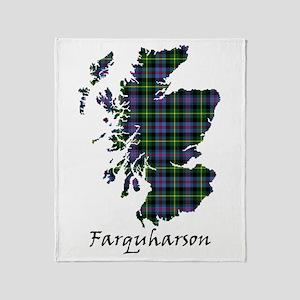 Map - Farquharson Throw Blanket
