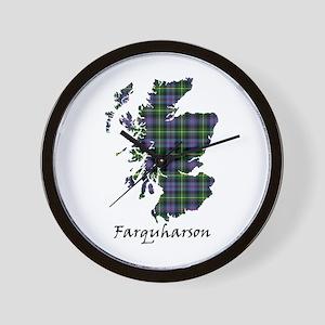 Map - Farquharson Wall Clock