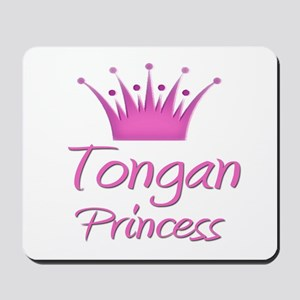 Tongan Princess Mousepad