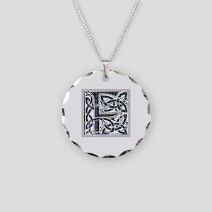 Monogram - Farquharson Necklace Circle Charm