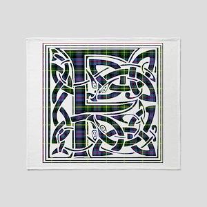 Monogram - Farquharson Throw Blanket