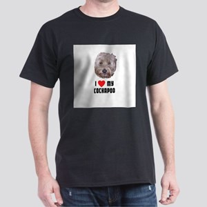 I Love My Cockapoo Dark T-Shirt