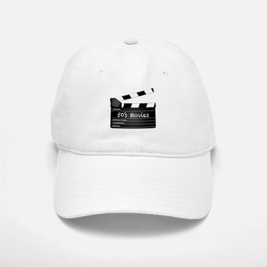 50's Movies Clapperboard Baseball Baseball Cap