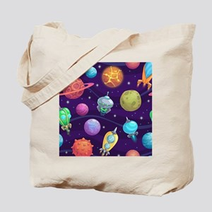Cute Space Tote Bag