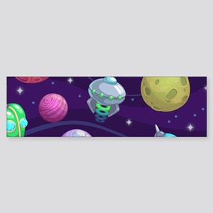 Cute Space Sticker (Bumper)